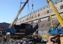 Демонтаж конструкций из металла в Астрахани